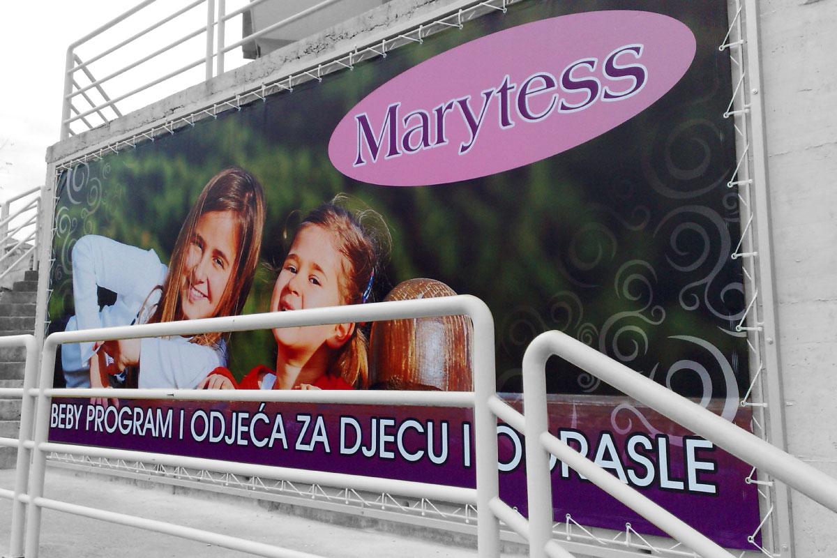 Propaganda Poreč banner cerada s okvirom