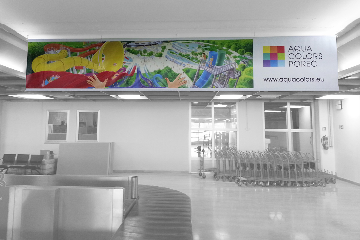 Propaganda Poreč banner viseći