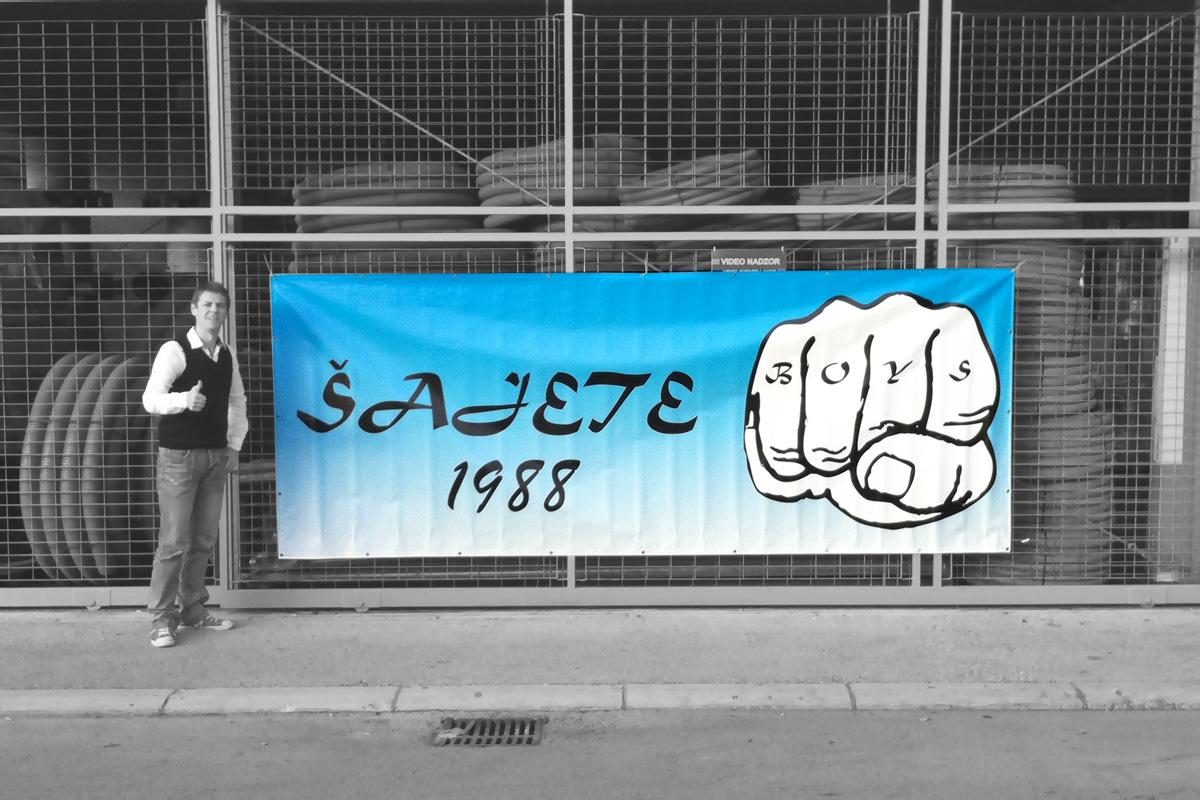 Propaganda Poreč banneri za navijače