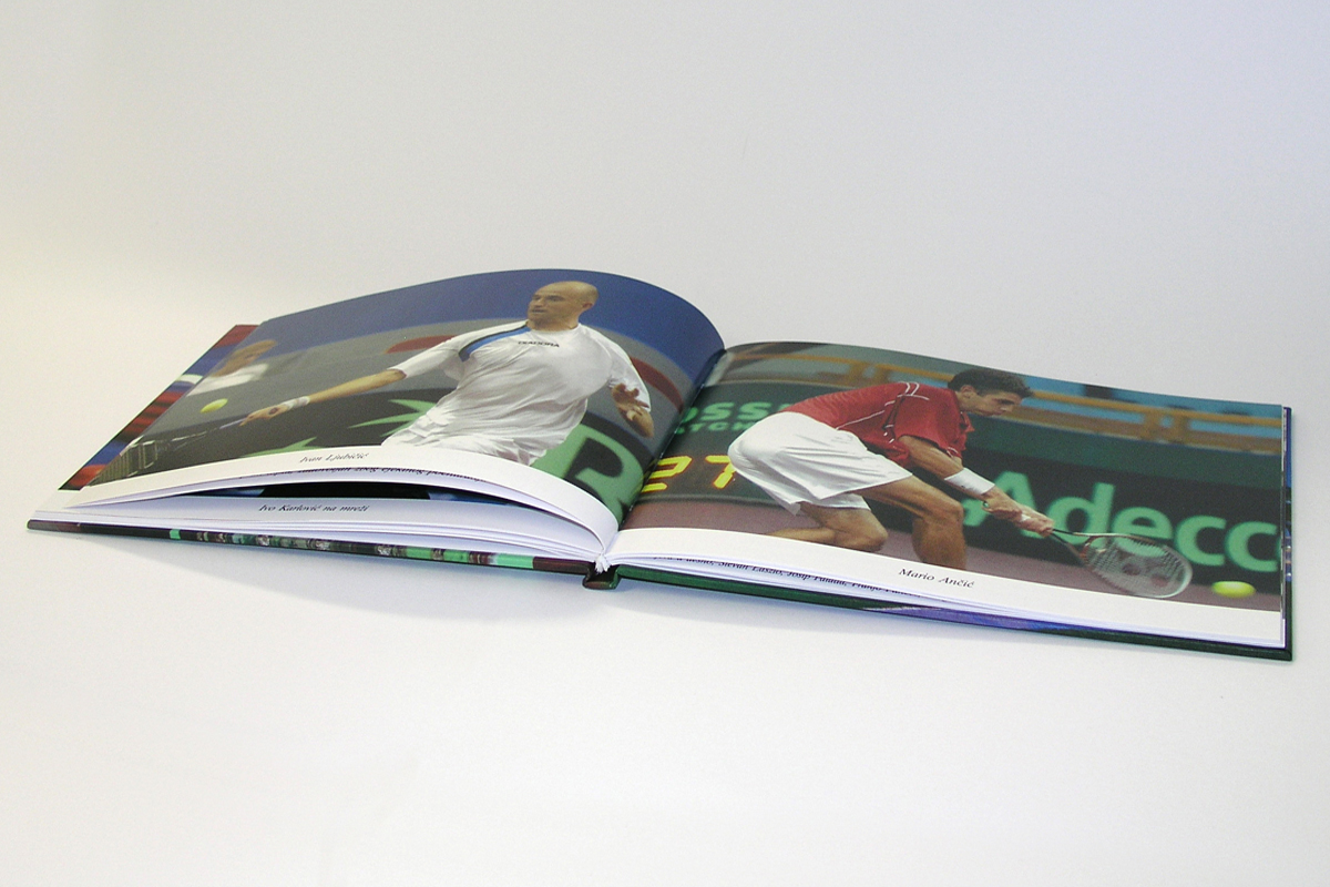 Propaganda Poreč monografija Davis Cup