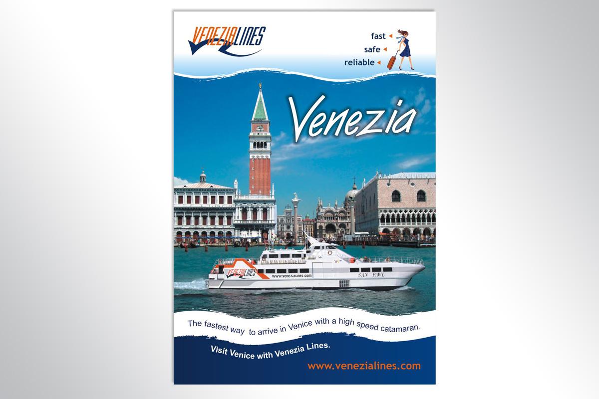 Propaganda Poreč plakat Venenezia lines