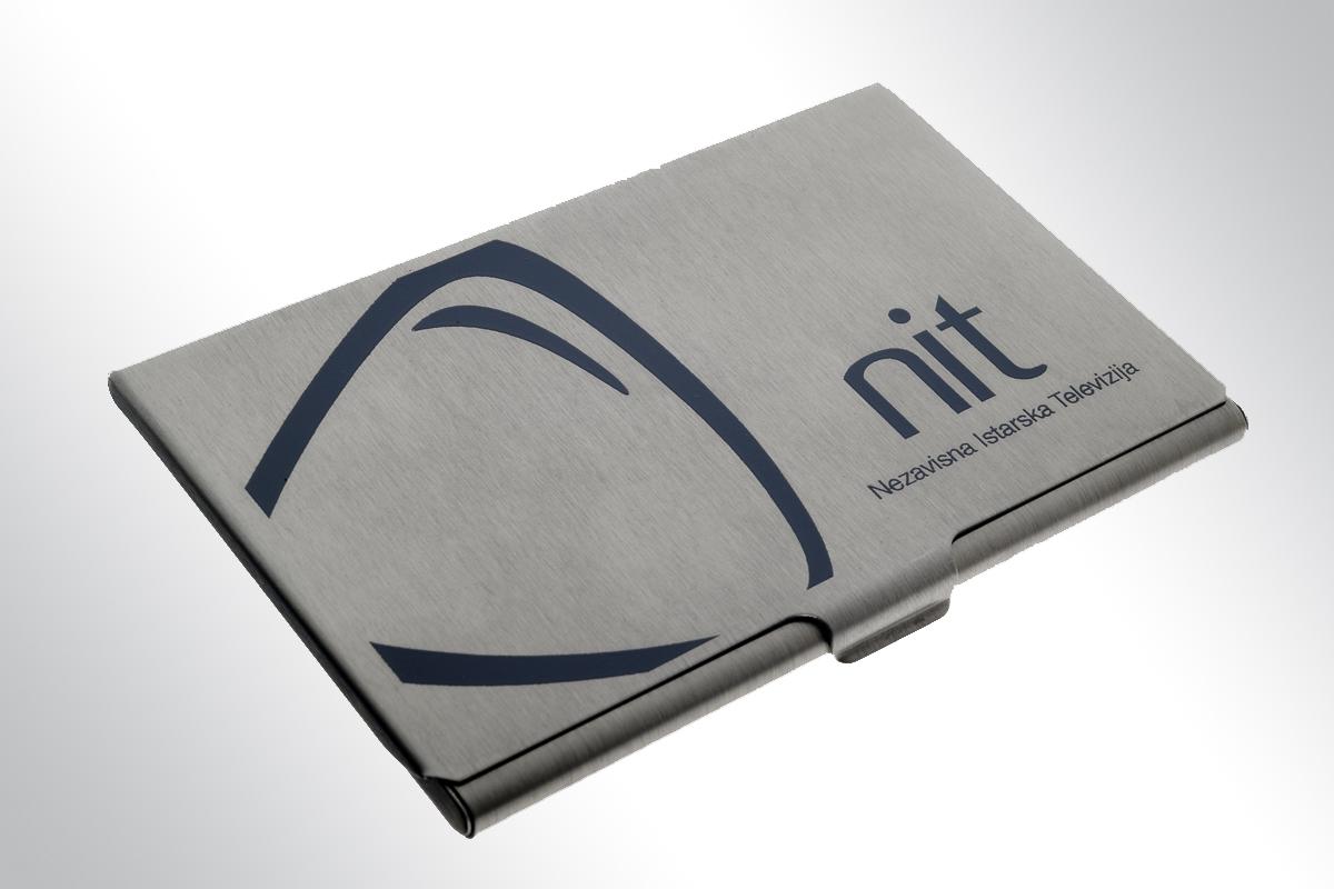 Propaganda Poreč reklamni artikli etui za vizitke NIT