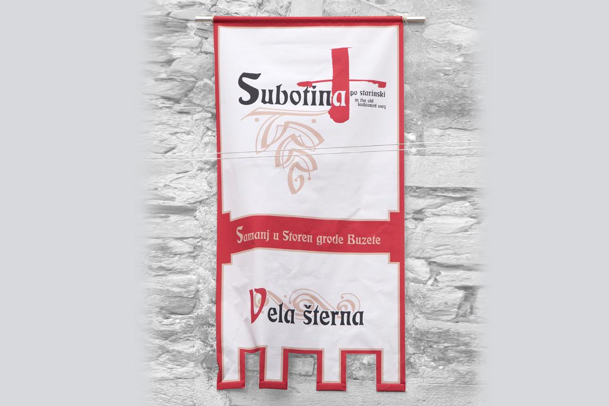 Propaganda Poreč - zastava Vela Šterna